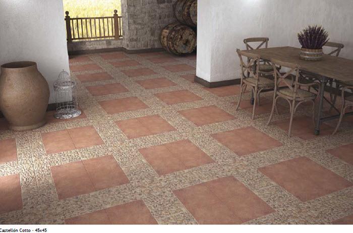 suelos ceramicos rusticos suelo de cocina negro with